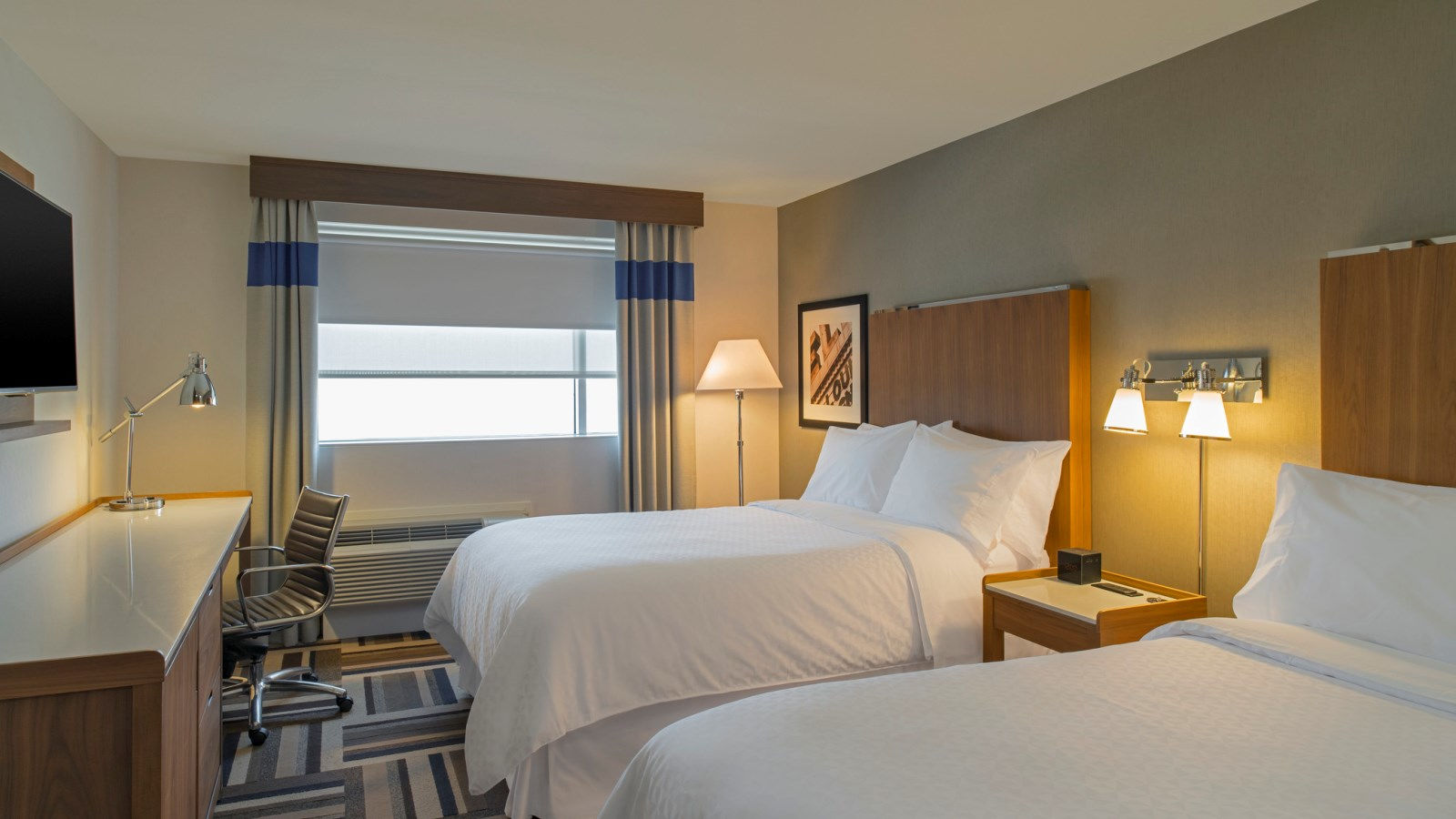 Midland Accommodations - Double Double Guest Room